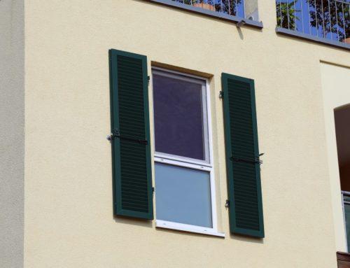 Fensterläden mit elektrischem Antrieb