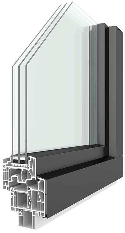 Hoehbauer Kunststoff-Alu-Fenster